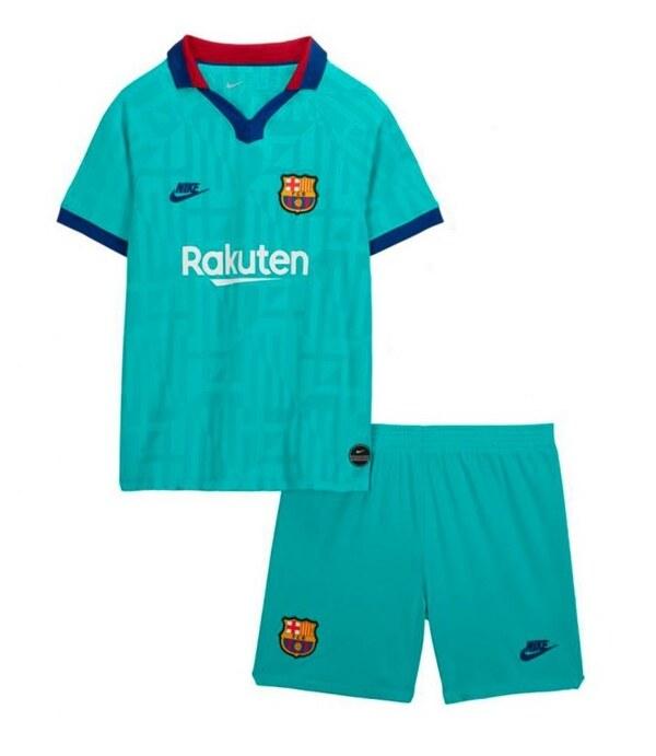 Барселона (Barcelona) Детская запасная форма сезона 2019-2020