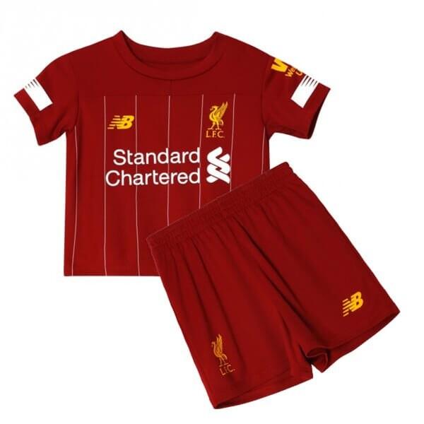 Ливерпуль детская домашняя форма Вирджил 4 2019-2020
